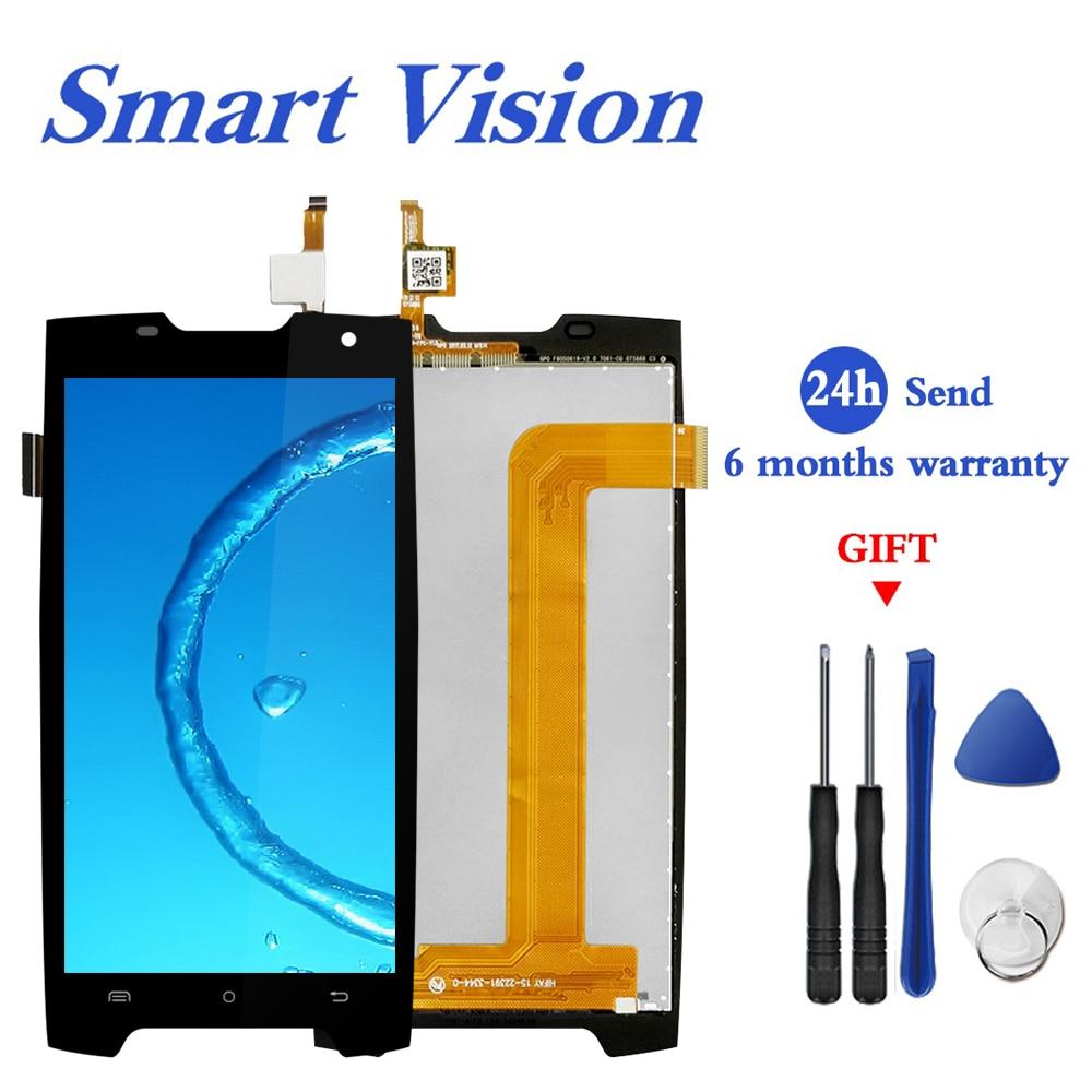 Para Cubot King kong Display LCD Touch Screen Digitador Substituição Display LCD Tela Peças de Telefone Para Cubot Kingkong