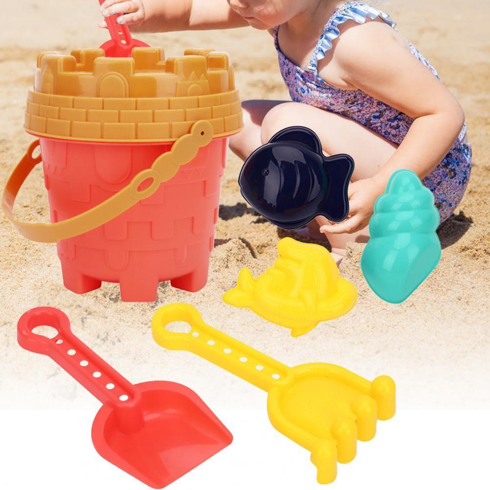 Детские пляжные игрушки, детские летние пляжные песочные инструменты, детские игрушки, набор песочников, игрушки для пляжа, ванной, водные и...