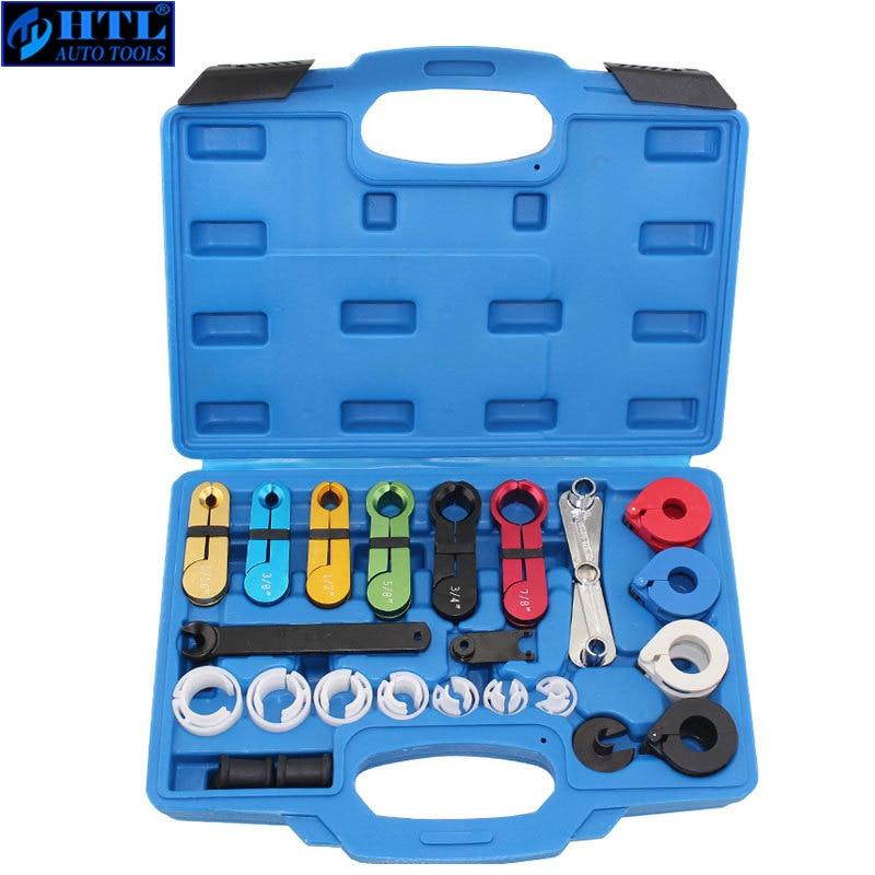 automotive tools of 22pcs fuel 22pcs Master Quick Disconnect Tool Kit for Automotive AC Fuel Line and Transmission Oil Cooler Line