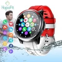 HopoFit     Montre Connectee pour hommes et femmes  Bluetooth  appel  Fitness  pression arterielle  pour Android et IOS