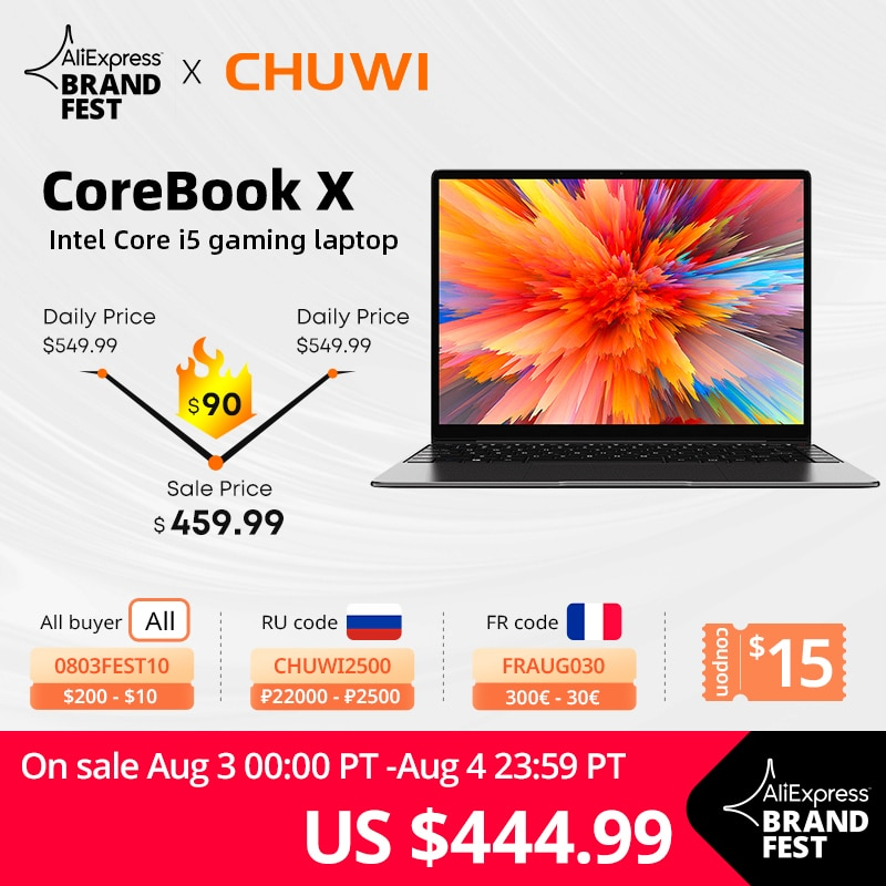 Laptop CHUWI CoreBook X, 14