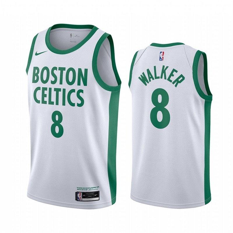 Camiseta NBA 8 Walker 2021 Edición de ciudad, Camiseta de Baloncesto de...