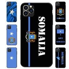 Somali Somalia National Flag Coat Of Arms Theme TPU Phone Cases For OPPO A3 A5 A7 Reno 2 X ACE PRO Realme XT X2 K5