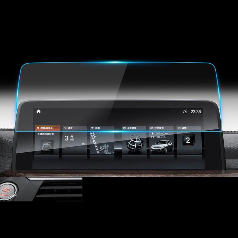 Lsrtw2017 coche para pantalla de navegación GPS anti-Protector de arañazos templado película para bmw x3 2018 2019 X4 G01 G02 2021, 2020