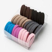 30Pcs Girls Scrunchies Elastic Hair Band Hair Tie Baby Hair Ring Rope Headwear Kids Hair Accessories