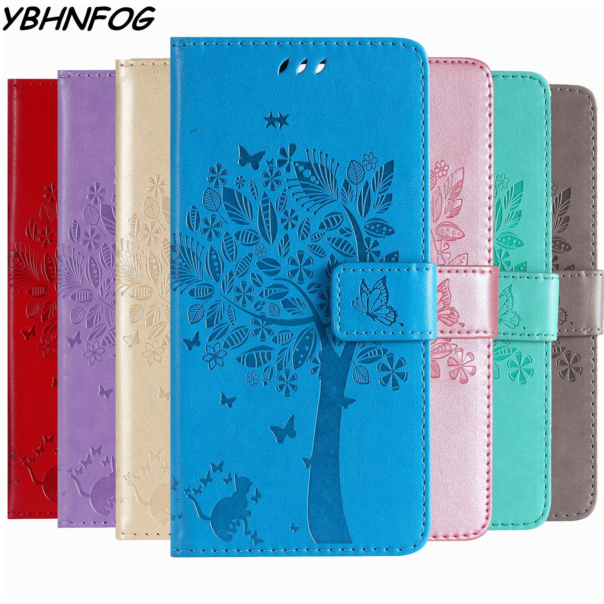 De Lujo Flip para Samsung Galaxy A20E A10 A30 A40 A50 A60 A70 A80 A51 A71 A6 A7 A8 A9 2018 Cartera de cuero magnético cubierta de libro
