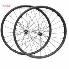 29er vtt disque carbone roues 38.5x28mm asymétrie tubeless vélo roues D411SB D412SB 100x15 142x12 pilier 1423 rodas vtt 29