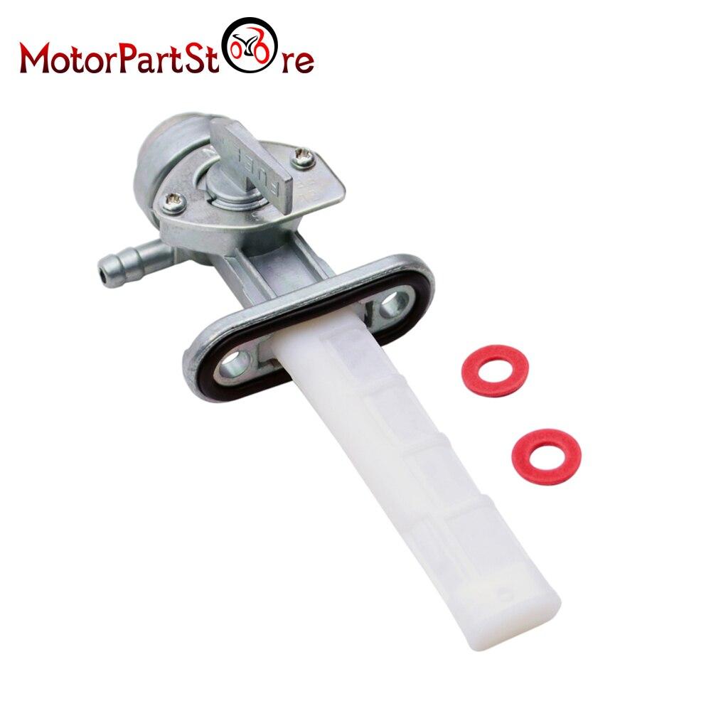 FLYPIG nuevo reemplaza la válvula de montaje de llave de purga del tanque de gasolina de plata de la motocicleta para SUZUKI B100 DS80 TS250 TS400 RM100