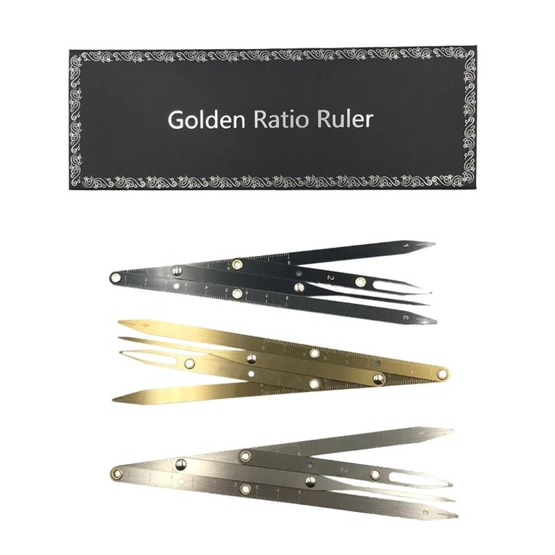 1pcs Permanent Makeup Eyebrow Ruler Golden Ratio Divider Caliper Microblading Stencil Shaping Tool Tattoo Accessories Supplies Tattoo Accesories Aliexpress