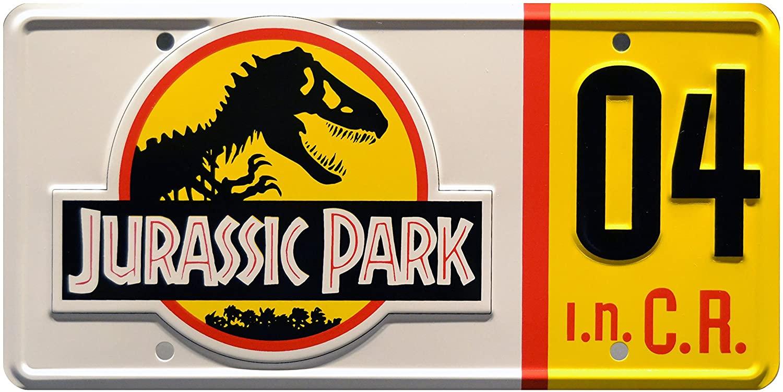 Знаменитости машины Парк Юрского периода | Explorer #04 | Металлический штампованный номерной знак