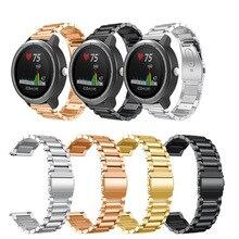 Bracelet de Bracelet de montre en acier inoxydable de première qualité pour fossile Q Explorist HR Gen 4 /Q Explorist Gen 3 Bracelet de montre intelligente accessoire