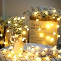 Decorations de noel pour la maison chaine lumiere lampe a Led Navidad guirlande lumieres Natal lanterne boule vacances fete deco en plein air 8 Mode