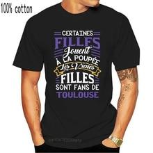 Для мужчин футболка Les vraies filles, некоторые из которых являются вентиляторы Тулузы! Футболки Для женщин футболка Футболки      АлиЭкспресс