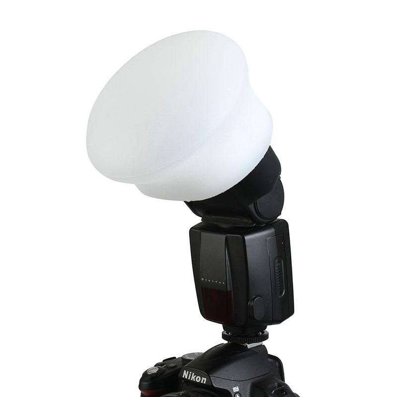 Magnetic Silicon Light Diffuser Rubber Sphere Modular Flash Accessories for Godox Canon Nikon Yongnu