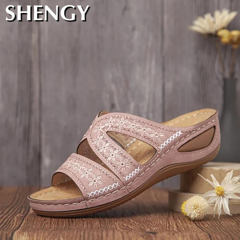 2020 Women Shoes Comfy Platform Sole Ladies Casual Soft Woman Slippers Wedge Comfortable Sandal Outdoor Summer Beach Flip Flops