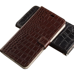 Suitable for Sony XA2ULTRA crocodile pattern left and right magnetic buckle leather case flip type XA1PLUS mobile phone case Z3
