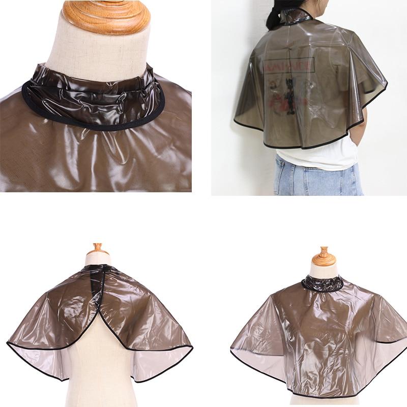 Hair Cutting Collar Waterproof Colouring Cape Barber Cloth Hairdressing Hair Dye Gown Perm Baking Oi