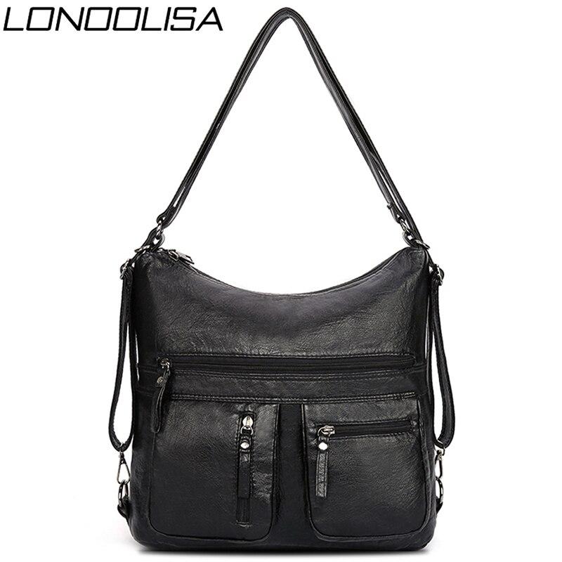 Multifunction Ladies Hand Bags for Women 2021 Luxury Handbags Women Bags Designer Handbags Back Pack Lady Crossbody Shoulder Sac