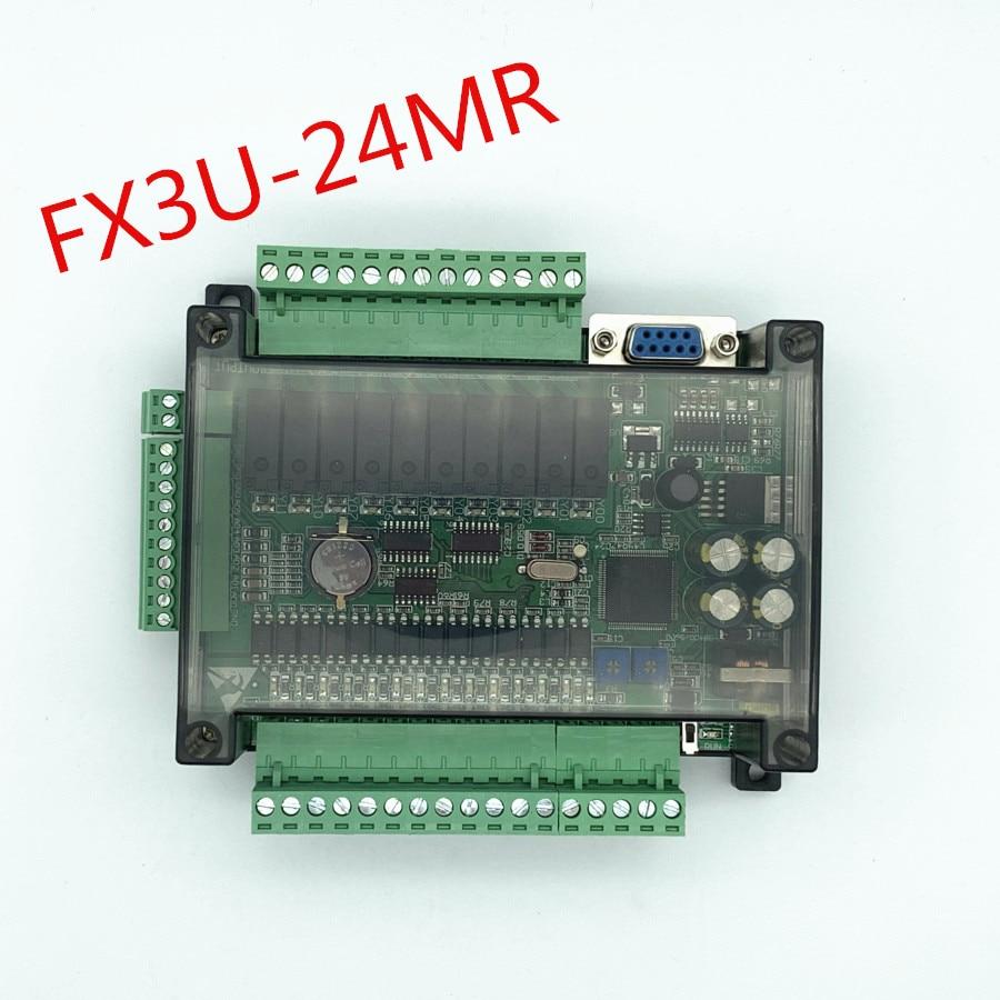 FX3U-24MR عالية السرعة المحلية PLC وحة التحكم الصناعي مع حالة مع 485 الاتصالات