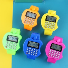 Multifunction Calculator Kids Watches Boys Casual Silicone Sports Kids Children Watch Student Digita