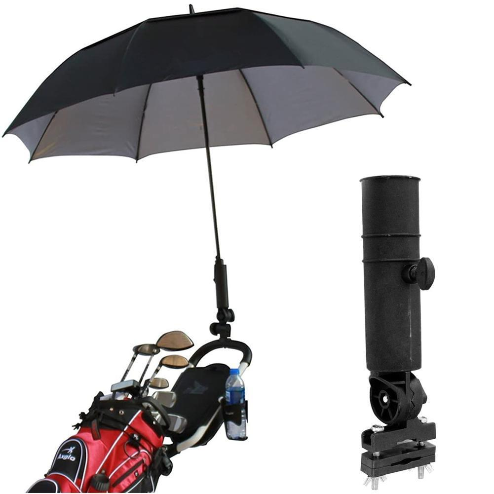 Soporte duradero para sombrilla de Club de Golf, para Buggy de bicicleta, paraguas, soporte para Golf, carrito de cochecito J8J8