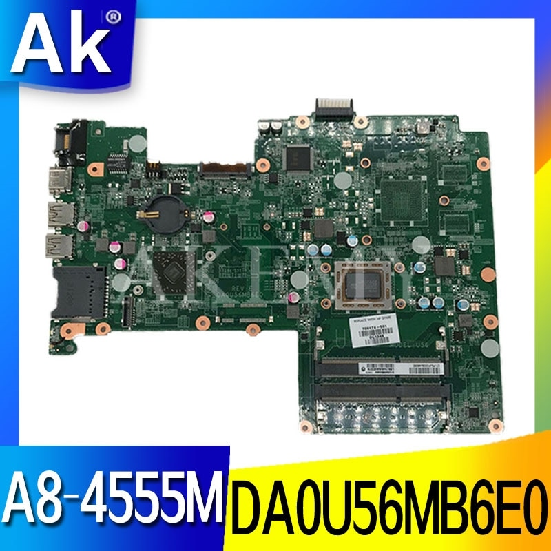 Für For HP Pavilion 15-B 15-Z Serie 709175-001 709175-501 709175-601 DA0U56MB6E0 UMA A70M A8-4555M Laptop motherboard Getestet