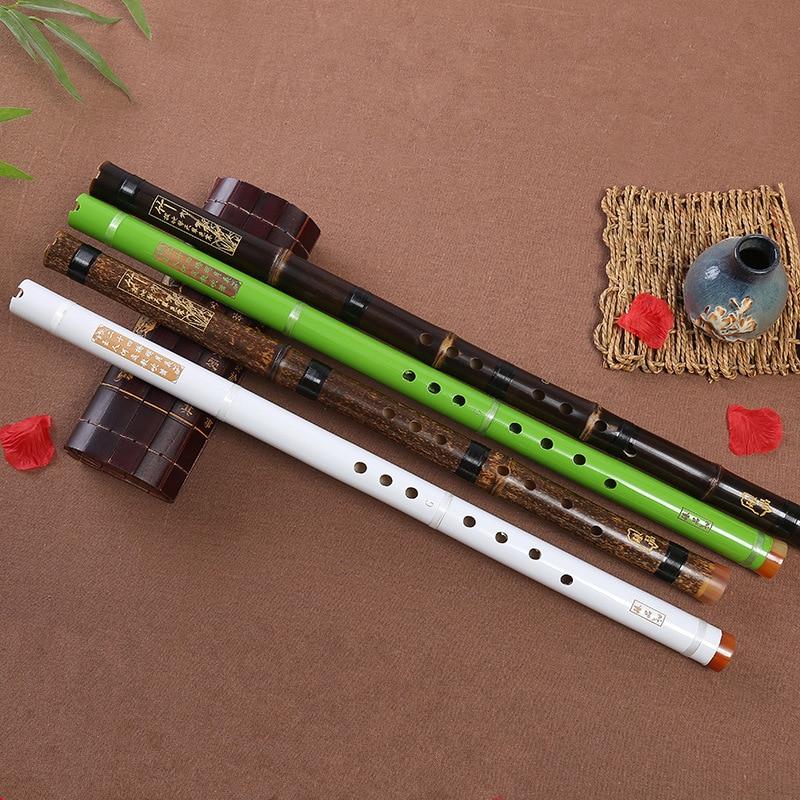 Professional Purple Bamboo Flute Xiao Chinese Vertical Piccolo Shakuhachi  classic traditional music instrument Short Dizi Xiao