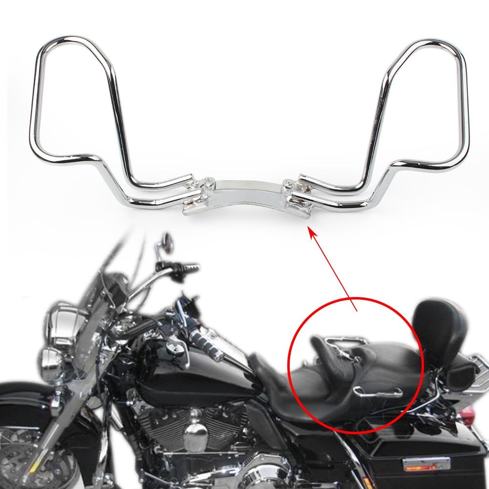 Carril de agarre de mano de pasajero de motocicleta para Harley Touring FLHT FLHR FLHX FLTR 2009-2013 y Street Glides 2006-13 / Trikes 09-2017