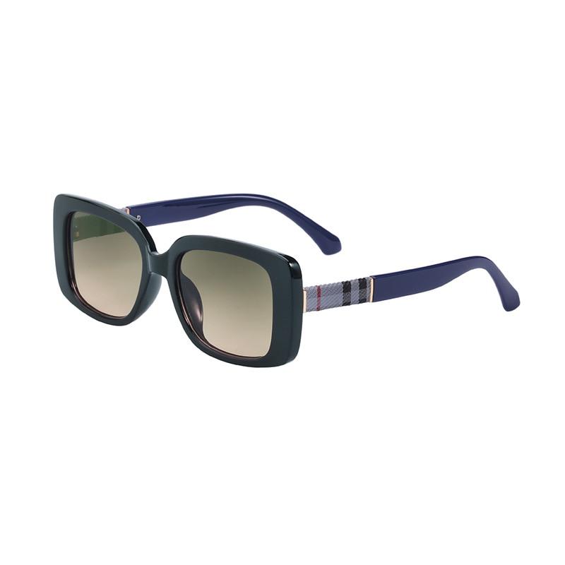 TANSEN Fashion Classic Square Sunglasses Women Brand Designer Luxury Glasses Feminine Black Rectangu