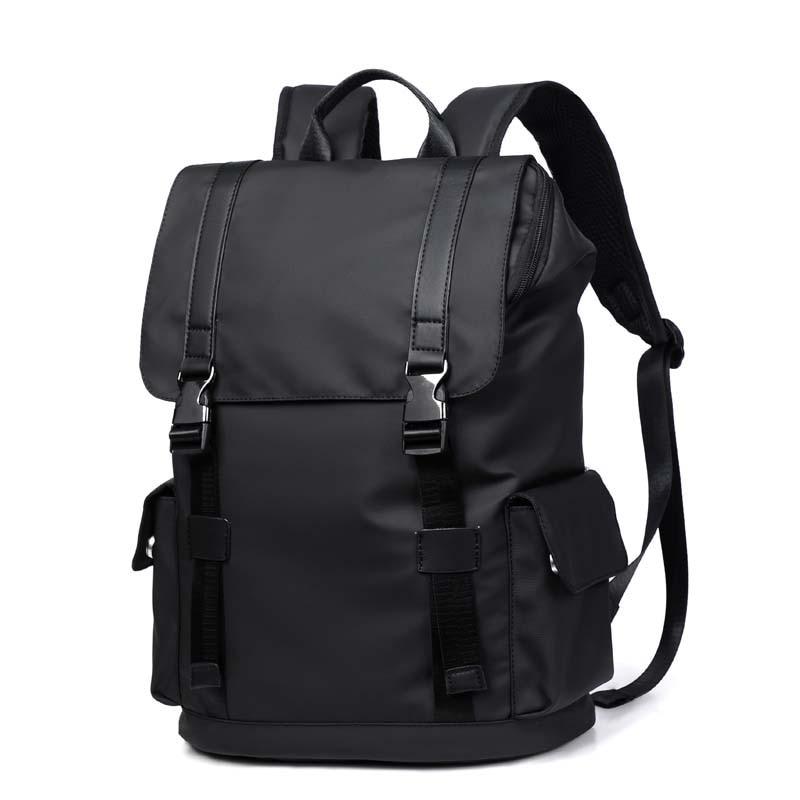 Men Backpack Nylon Waterproof Backpack School Bags for Teenage College Large Capacity Men's Travel Bag Mochila Laptop Bag Sports 17 inch laptop backpack casual shoulders bag for teenage men backpack school bags waterproof backpack travel suitcase 17 3 inch