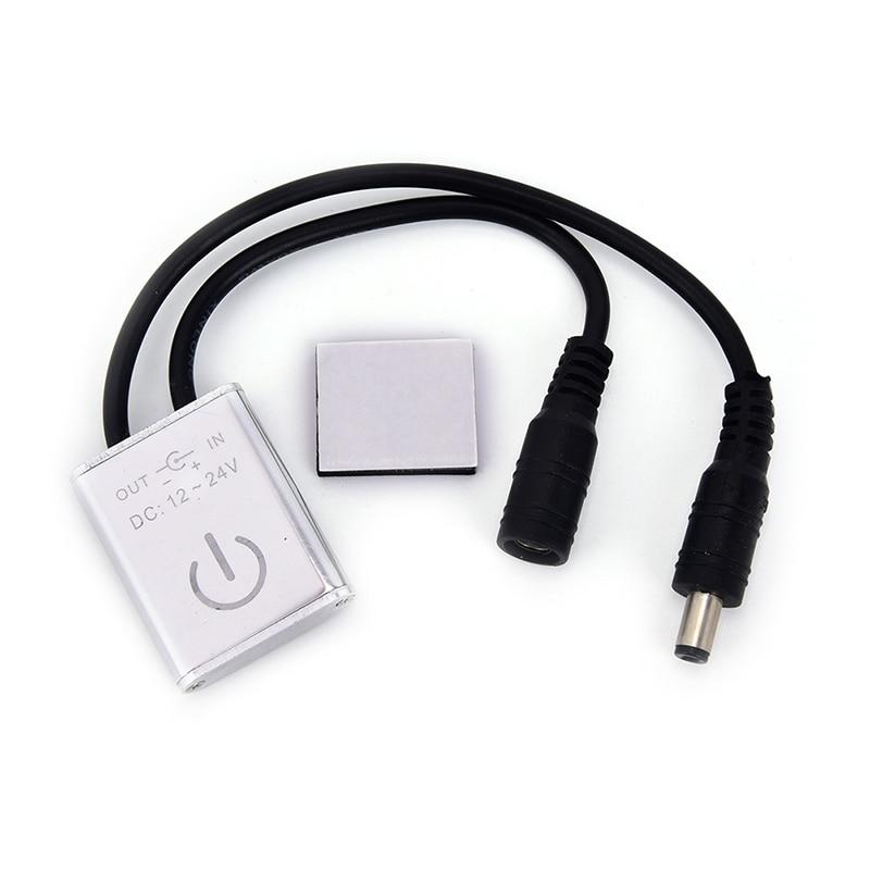 Negro IR interruptor de movimiento iluminación armario Sensor lámpara armario hogar LED