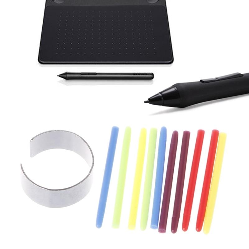 10 Pcs Graphic Drawing Pad Standard Pen Nibs Stylus for Wacom Bamboo Drawing Pen