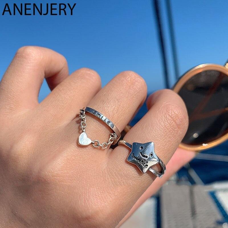 Модное-кольцо-evimi-из-стерлингового-серебра-925-пробы-с-милой-пятиконечной-улыбающейся-кожей-кольцо-из-тайского-серебра-с-романтической-надп