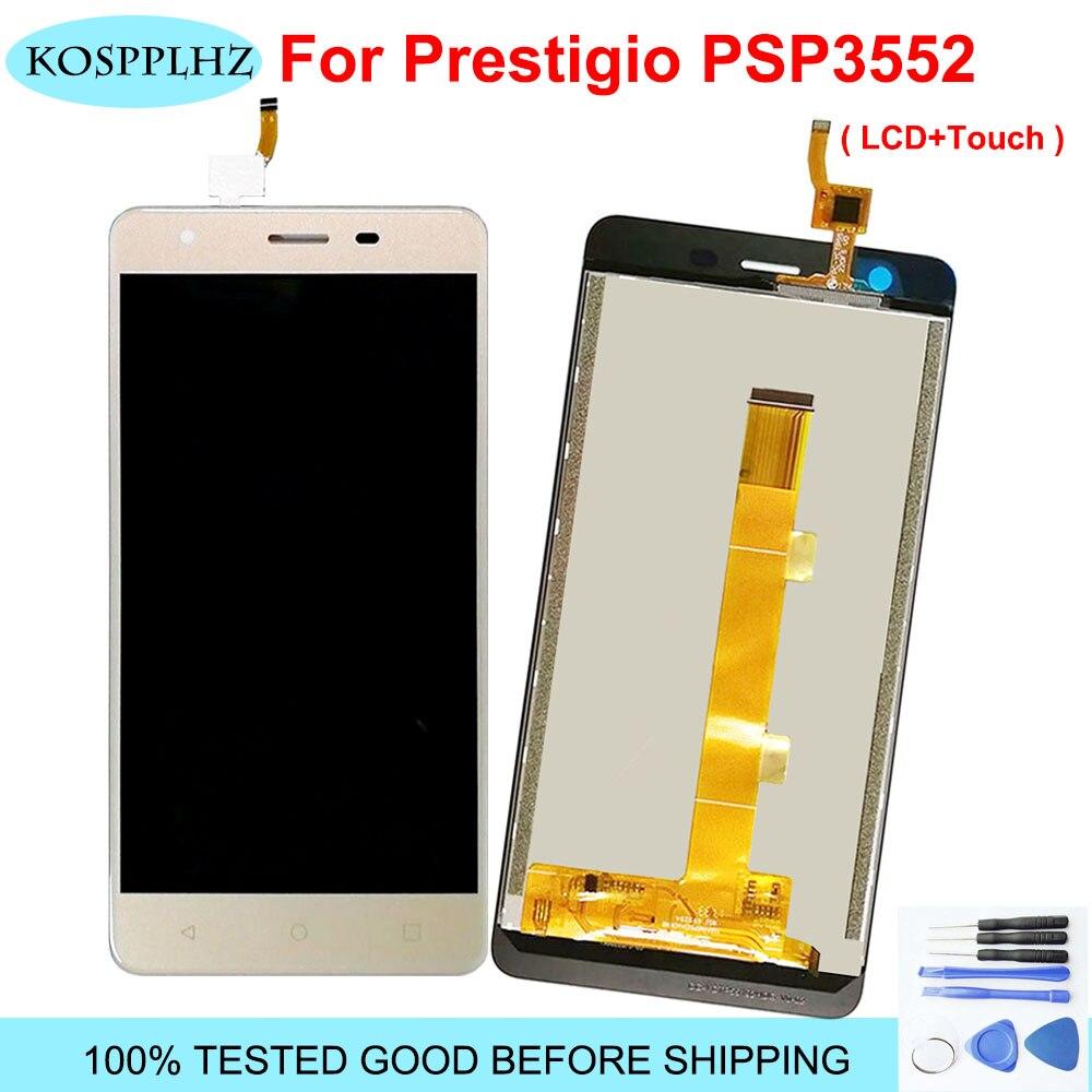 1920*1080 5,5 pulgadas 100% probado LCD para Prestigio Muze H3 PSP3552DUO psp 3552 duo psp3552 pantalla LCD y montaje de pantalla táctil