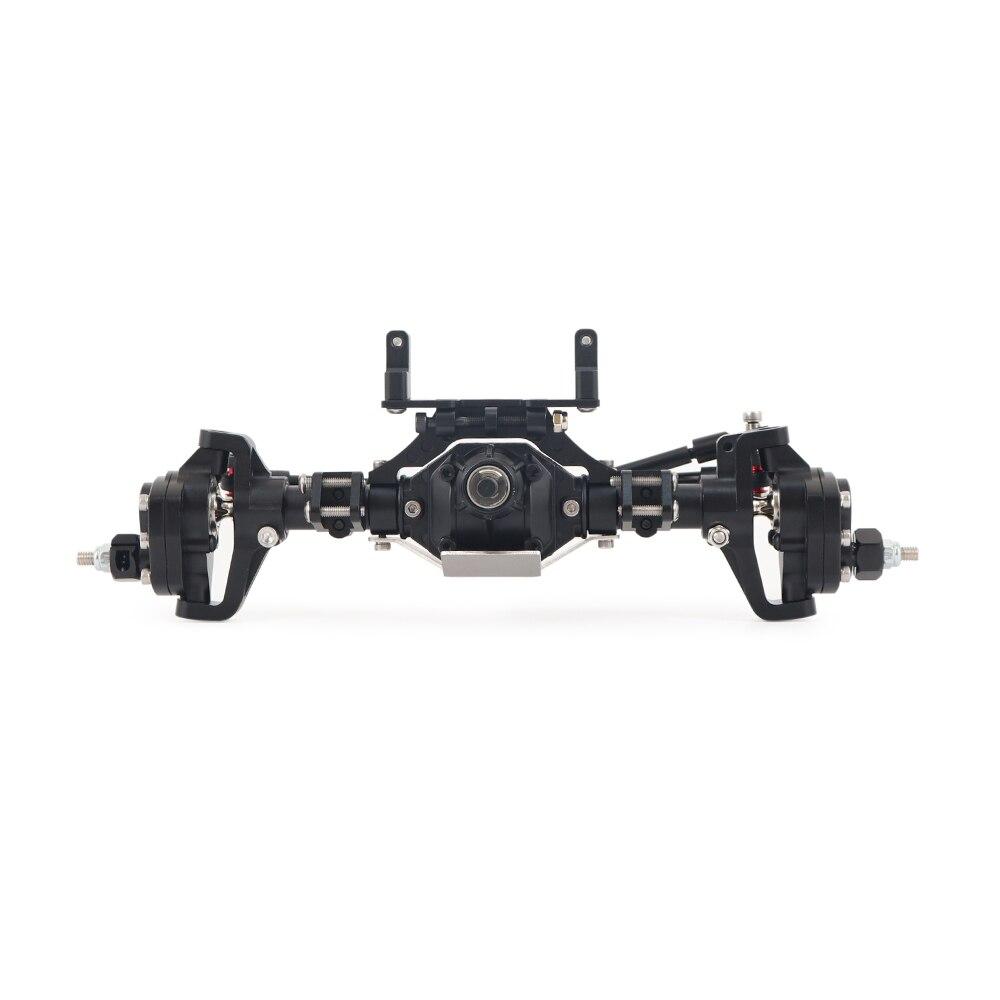SCX10 Aluminum Front Rear Portal Axles Metal Axle for 1/10 RC Crawler Car Axial SCX10 II 90046 90047 RGT 86100 Upgrade Parts enlarge