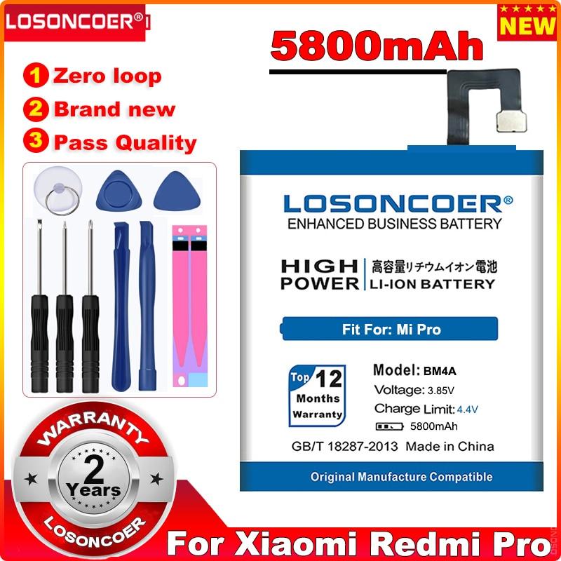"""5550mAh BM3A BM3B BM3C BM3L BM4A Bateria Para Xiaomi Mi Redmi Bateria Pro MI7 7 Mix 2 2S II 5.99 """"MIX2 MIX2S Nota 3 9 MI9 M9 MI 9"""