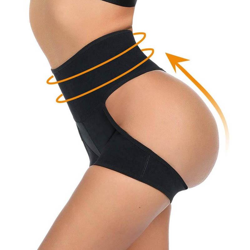 Сексуальные женские трусики для тренировок на талии, трусики для увеличения роста, утягивающие Утягивающие трусики