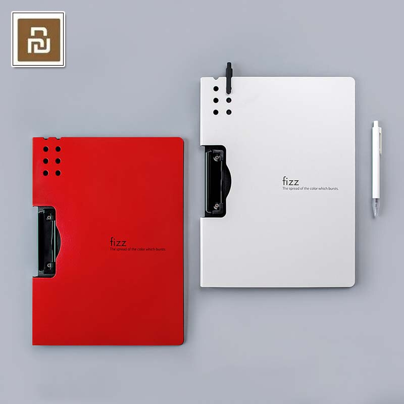 Nueva carpeta Horizontal A4 Xiaomi Fizz, almohadilla portátil con textura mate, bandeja de pluma portátil, maletín grueso, material escolar y de oficina