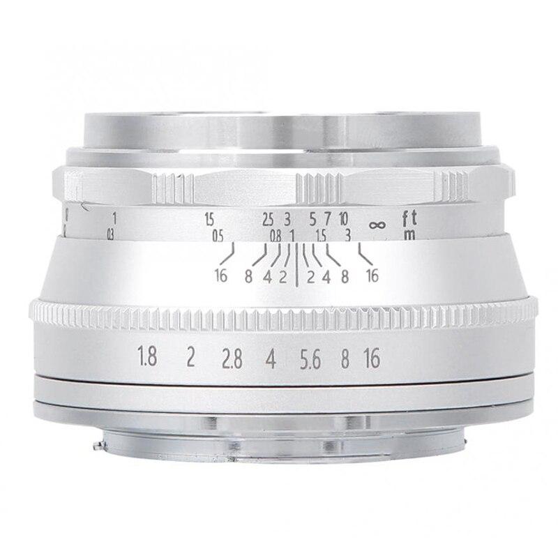 25MM F1.8 Fixed Focus Mini Lens Suitable Manual Prime Lens for SONY A33 NEX Mount Mini Single Camera