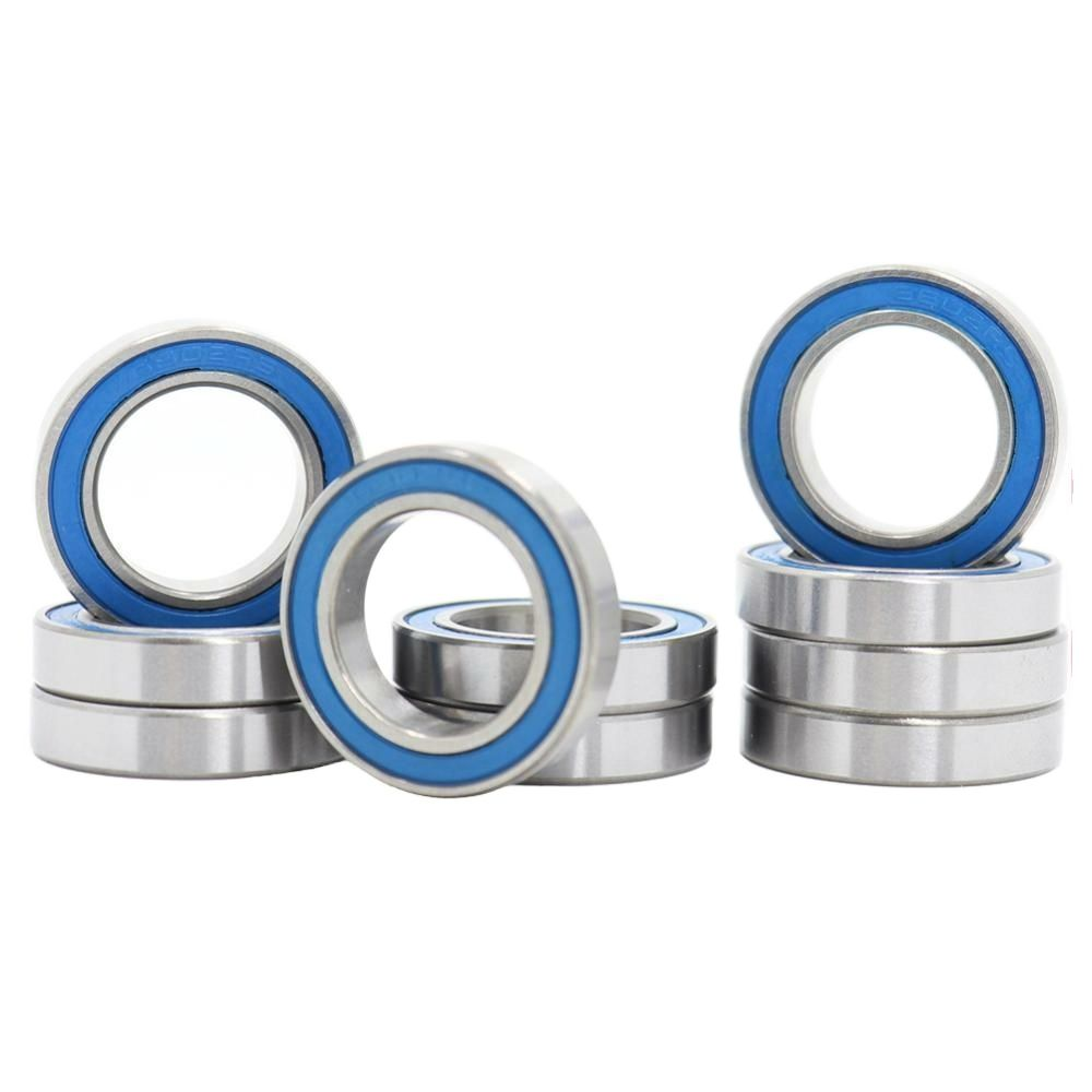 6802RS Bearing 10PCS 15x24x5 mm ABEC-3 Hobby Electric RC Car Truck 6802 RS 2RS Ball Bearings 6802-2RS Blue Sealed 6802 2rs stainless bearing 15 24 5 mm 1pc abec 3 6802 rs bicycle hub front rear hubs wheel 15 24 5 ceramic balls bearings