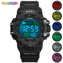 Electronic Watch Women Led Digital Military Watches Man 2019 Sports Waterproof Casual Silicone Stopw