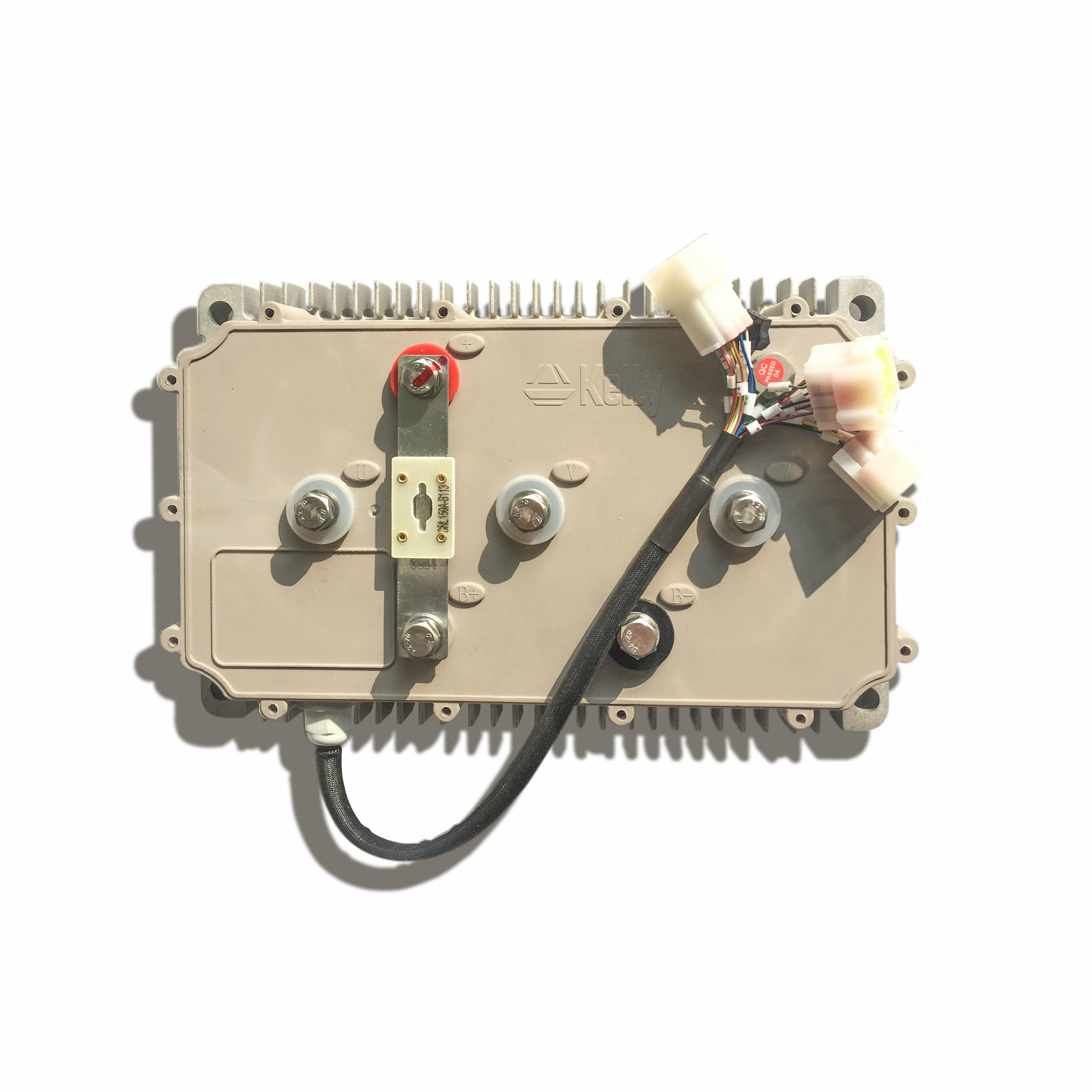 KLS72501-8080I ، 24 فولت-72 فولت ، 500A ، وحدة تحكم المحرك BLDC الجيبية مع CAN