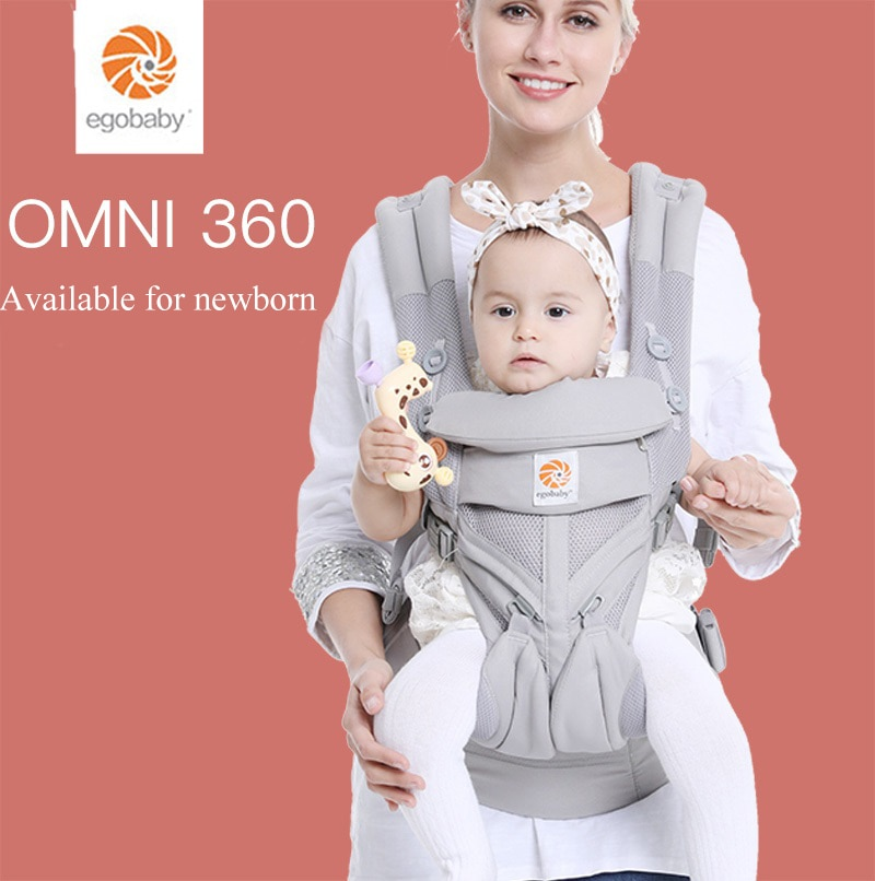 Baby Carrier Omni 360 All Carry Positions Baby Sling with Cool Air Mesh Cotton four seasons for mother father parents