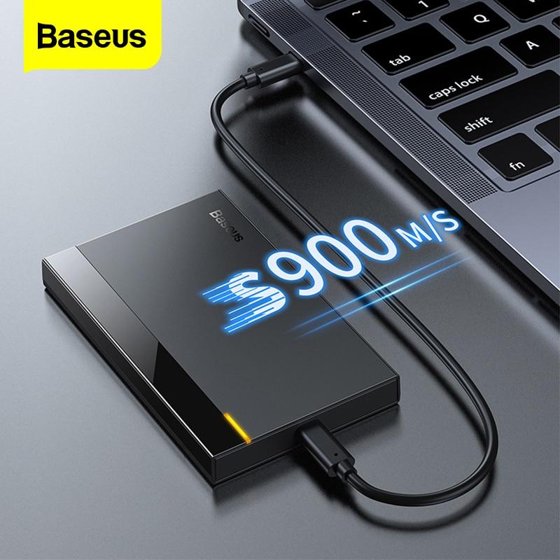 Baseus HDD Case 2.5 SATA to USB 3.0 Adapter Type C 3.1 Case HDD External HDD Enclosure Hard Drive En