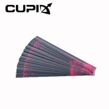 15 Pcs 19.3*1.8*0.1cm Heat Shrinkable Arrow Wraps Arrow Sticker DIY Arrows for Outdoor Archery Hunting Shooting
