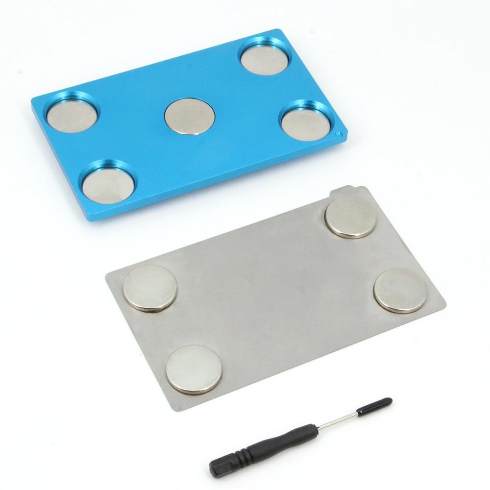 Befenybay مرنة قابلة للإزالة الصلب بناء السطح والألومنيوم منصة لطابعة Anycubic الفوتون/الفوتون-S LCD ثلاثية الأبعاد