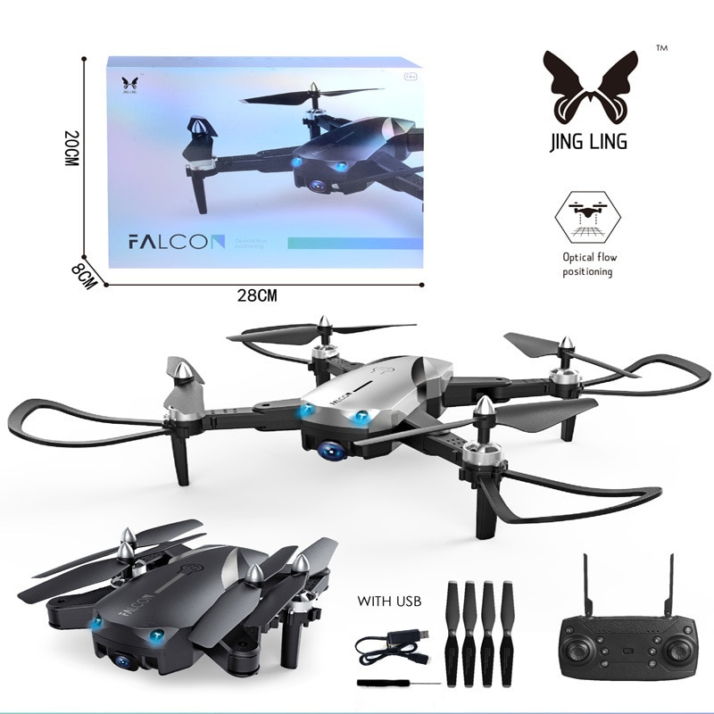 RC Quadcopter Dron 4k/1080P Drone WIFI FPV Wide Angle HD Camera Drone Camera Quadcopter Hight Hold Mode Foldable toy enlarge