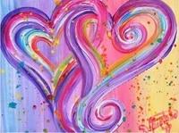 Peinture diamant theme dessin anime  coeur doux  broderie complete 5D  perles carrees ou rondes  strass  mosaique  pour bricolage  decor de maison  pour fille
