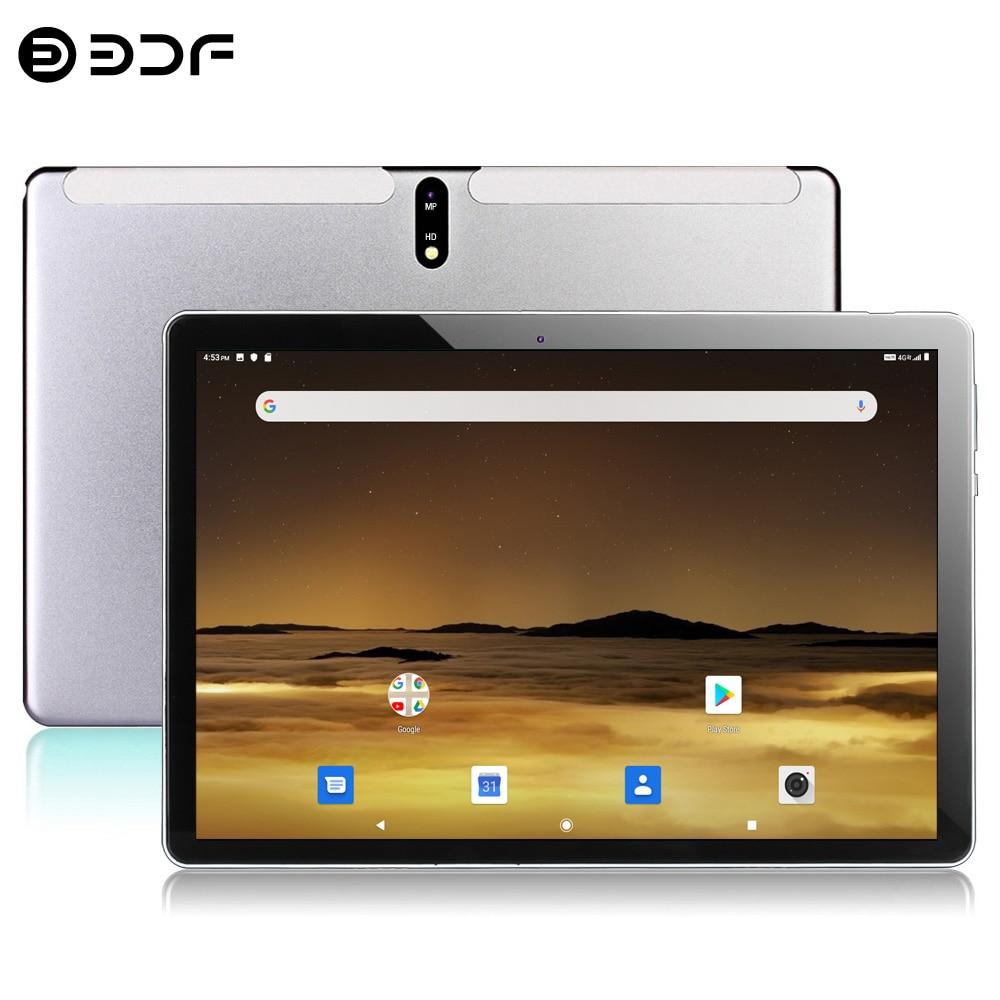 Планшет с экраном 10,1 дюймов, Восьмиядерный, Android 10,0, Google Play, 3G, 4G, LTE, телефонные звонки, две SIM-карты, GPS, Wi-Fi, стеклянная панель