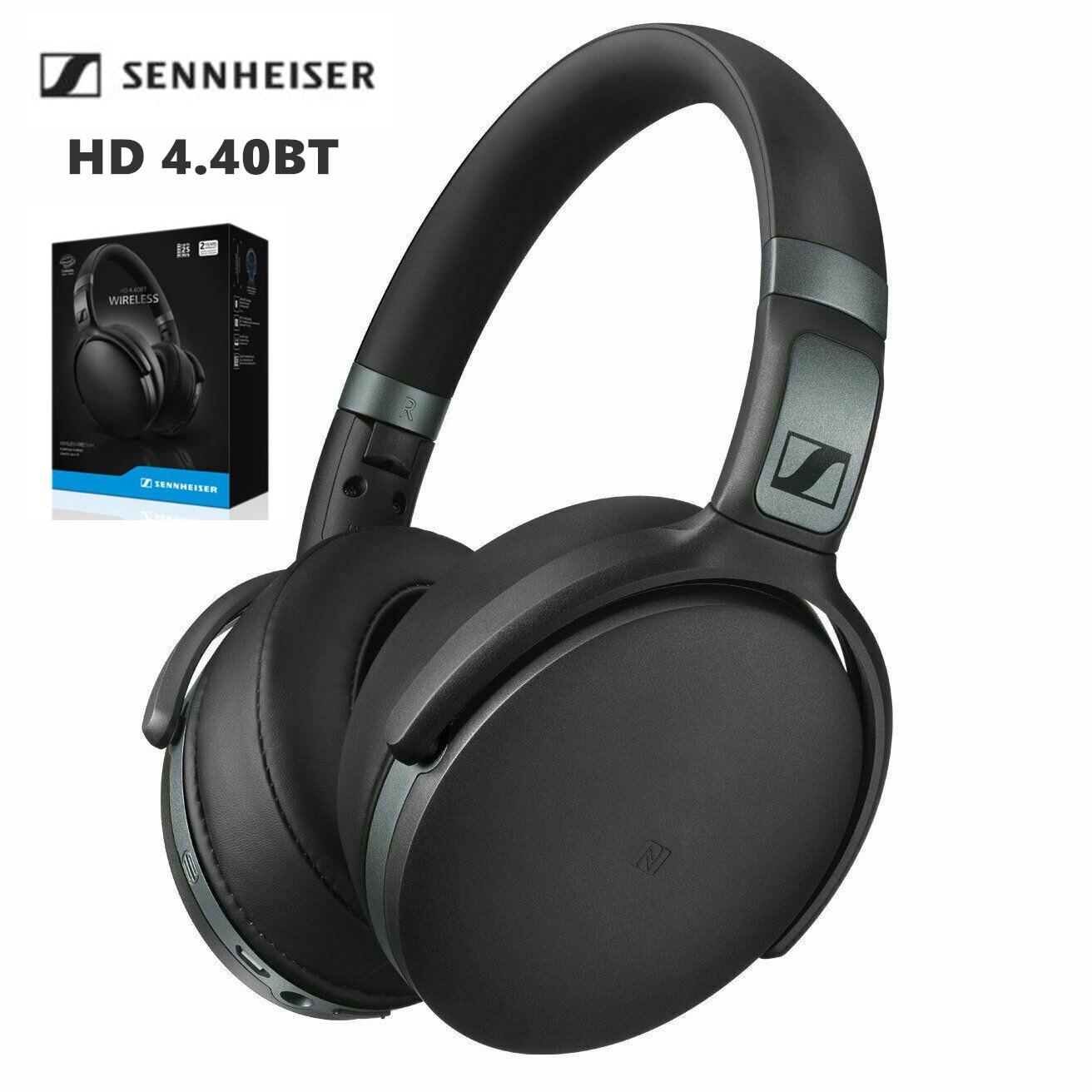 العلامة التجارية الجديدة الأصلي Sennheiser HD 4.40BT سماعة لاسلكية تعمل بالبلوتوث سماعات عميق باس ستيريو سماعة سماعة الألعاب أسود